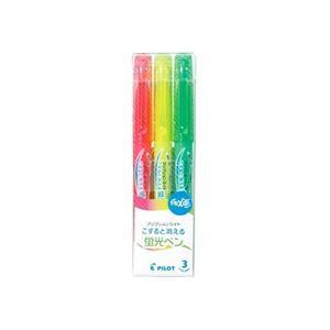 種類:蛍光ペン 方式:キャップ式 軸・キャップ:リサイクル樹脂 インキ色:ピンク・イエロー・グリーン...