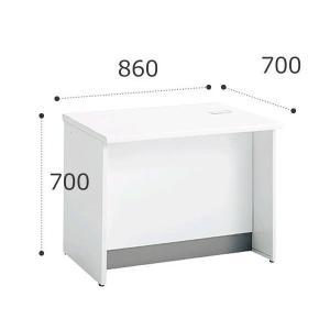 オカムラ ビラージュ VFCカウンター 860W ローカウンター VILLAGE 8VF08L-MJ59【お客様組立】|officekagu