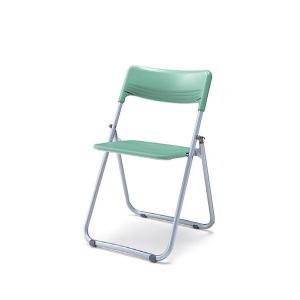 コクヨ 折りたたみ椅子 スチール脚 背座樹脂タイプ 軽量 連結 スリム CF-A45|officekagu