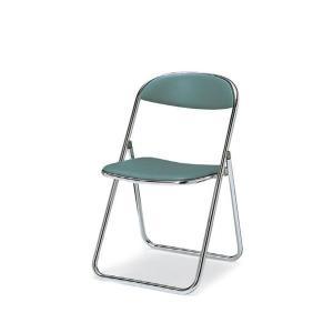 コクヨ 折りたたみ椅子 スチール脚 ビニールシート 座幅405タイプ CF-M7|officekagu