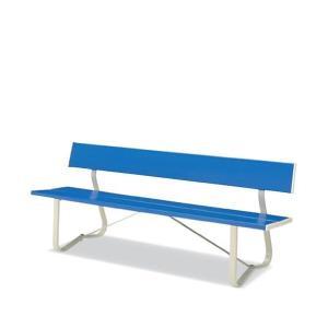 屋外用家具 屋外用ベンチ 背付 樹脂製ベンチシリーズ コクヨ PF-B11NN officekagu
