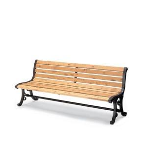 屋外用家具 屋外用ベンチ 背付 肘なし 間伐材入りベンチシリーズ コクヨ PF-MC10NN officekagu