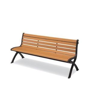 屋外用家具 屋外用ベンチ ABS押出材 背付 肘なし 木粉入りベンチシリーズ コクヨ PF-MC70 officekagu