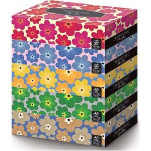 エイトワン ボニータ BOXティシュ 5P 300枚(150組) 5箱パック|officeland