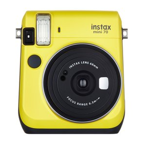 "FUJIFILM<富士フイルム> ""チェキ""instax mini70N イエロー チエキカメラ INS MINI 70N YELLOW