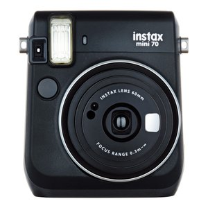 "FUJIFILM<富士フイルム> ""チェキ""instax mini70N ブラック チエキカメラ INS MINI 70N BLACK
