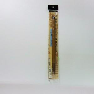 サンフレイムジャパン 太/細筆2本組(3/8号)茶毛 初心者用 500-2448 5002448|officeland