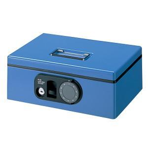 プラス(PLUS)金庫 F型 手提金庫 S B5 ブルー CB-030F12-843|officeland