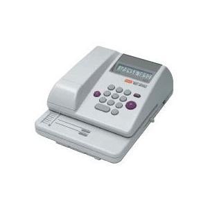 マックス MAX 電子チェックライター スタンダードタイプ 10桁印字・コードレス EC-610C EC90003|officeland