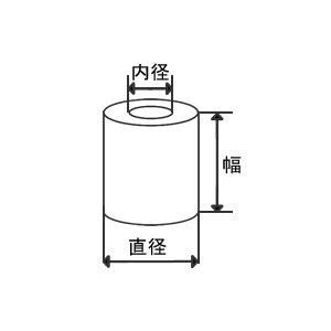 感熱レジロール紙 幅58×直径80×内径12 5巻 officeland