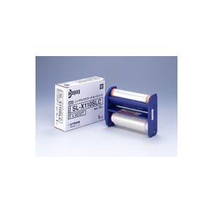 サインクリエイター ビーポップ<Bepop> CPM-100Hシリーズ専用ラミネートキット LC-X510用カートリッジ 110mm×10m SL-X110SLC(IL90027) マックス|officeland
