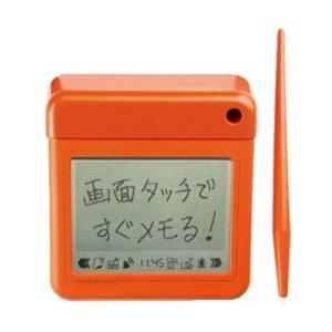 キングジム 卓上メモ 「マメモ」 mamemo TM1オレ ビビットオレンジ|officeland