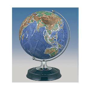 昭和カートン(三貴工業) SHOWAGLOBES 地勢図タイプ地球儀 26cm 26-TAP-K 日本製 スタンダードモデル プレゼントに最適な化粧箱入り|officeland