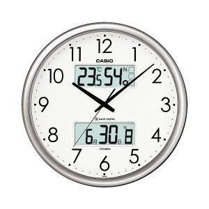 カシオ(CASIO) 壁掛け時計 シルバー 電波時計 ITM-650J-8JF|officeland