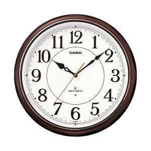 カシオ(CASIO) 壁掛け時計 濃茶 電波時計 IQ-1051NJ-5JF|officeland