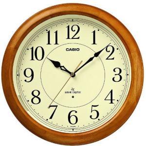 カシオ(CASIO) 壁掛け時計 白木 電波時計 IQ-1150NJ-7JF|officeland