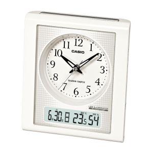 カシオ(CASIO) 置時計 ホワイト 電波時計 TQT-351NJ-7BJF|officeland