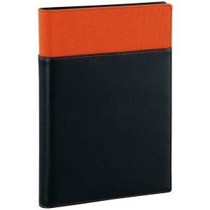 Davinci(ダ・ヴィンチ)システム手帳用 リフィルファイルポケット WAF152D オレンジ A5サイズ リング15mm レイメイ藤井|officeland