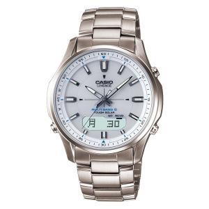 カシオ ウェーブセプター ソーラー電波時計(腕時計) 「LINEAGE(リニエージ)」 LCW-M100TD-7AJF 国内正規品|officeland