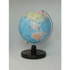 昭和カートン(三貴工業) SHOWAGLOBES 絵入りひらがな地球儀 21cm 21-HAX-L 日本製 木製台座 プレゼントに最適な化粧箱入り|officeland
