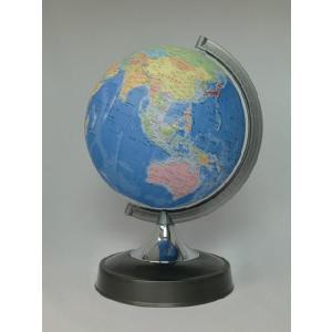 昭和カートン(三貴工業) SHOWAGLOBES 行政図タイプ地球儀 21cm 21-GPR-K 日本製 エントリーモデル プレゼントに最適な化粧箱入り|officeland