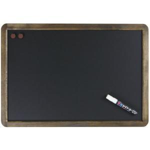 レイメイ藤井(Raymay) アンティーク ブラックボード A2サイズ LNB385 蛍光ボードマーカー白1本付|officeland