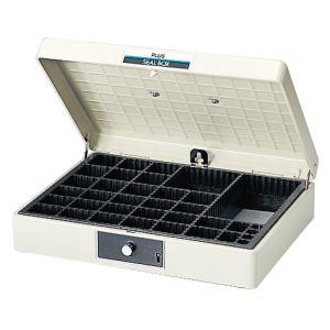プラス(PLUS)スチール印箱 シールボックス 特大 科目印収容数252 SB-00137-160|officeland