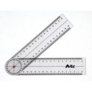 Artec(アーテック) ゴニオメーター(プラスチック角度計) #9724の画像