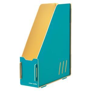 キングジム color units「カラーユニッツ」 マガジンボックス 青 7521アオ KINGJIM|officeland