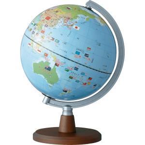 レイメイ藤井 しゃべる国旗付き地球儀 OYV46 球径20cm|officeland