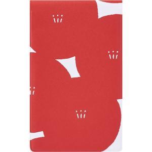 キングジム マスキングテープ KITTA キッタファイル 6ポケット フラワー KIT-F06アカ
