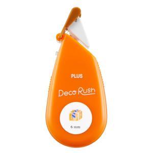 プラス PLUS デコレーション テープ デコラッシュ 6mm 荷物 51883|オフィスランドPayPayモール店