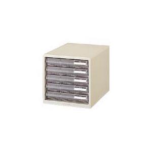 プラス レターケース<A4> 浅型5段 ホワイト|officemarket