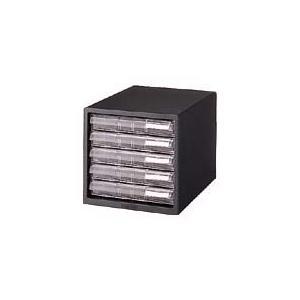 プラス レターケース<A4> 浅型5段 ブラック|officemarket