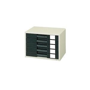 レターケース A4横 LC-205H エルグレー|officemarket