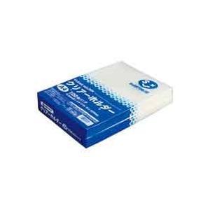 クリアーホルダーA4乳白100枚 D400J officemarket