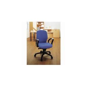 ジョインテックス ハイバックチェア(肘付) ブルー|officemarket