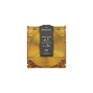 【パナソニック】DVD−RAM <4.7GB> LM-HB47LA