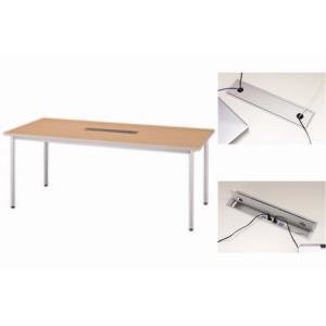 ジョインテックス ミーティングテーブル 1800×900 シカモア|officemarket