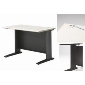 プラス 平机(ライトグレー) 1000mm|officemarket