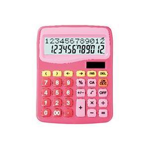 スクール電卓 ピンク SD-314-PK|officemarket