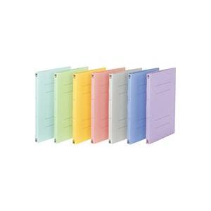 フラットファイル樹脂 021N A4S 青 officemarket