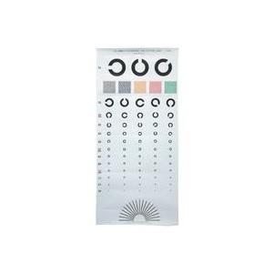 視力検査表 国際標準式5m 51-5000|officemarket