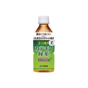 2つの働きカテキン緑茶PET350ml/24本 officemarket