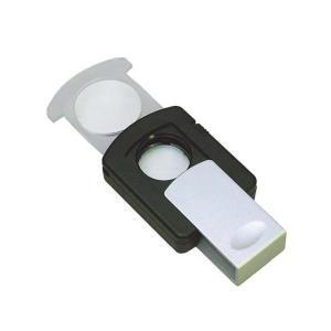 スライド式ライトルーペ 2.5倍&3倍 RM-329P|officemarket