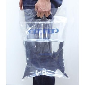 緊急用給水袋 5L マチ無 Artecアーテック|officemarket
