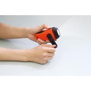 △手回しソーラー携帯充電器 Artecアーテック officemarket