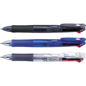 【ゼブラ】クリップ-オンG<4色ボールペン> B4A3-C B4A3-BK B4A3-BL|officemarket