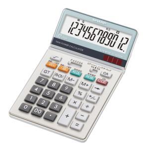 【シャープ SHARP】 電卓 (12桁) ナイスサイズ EL-N732-K officemarket