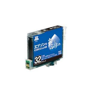 【JIT】汎用インクカートリッジ たっぷりント32 <ブラック> IC32系|officemarket